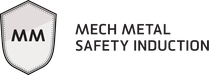 Mech Metal Safety Induction Badge image